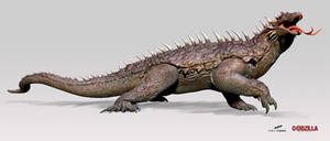 zVARAN - Godzilla: Heritage concept
