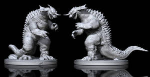 Baragon STL by dopepope