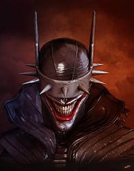 zTheBatmanWhoLaughs by dopepope
