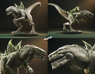Godzilla 98 STL
