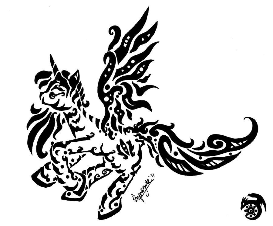 Alicorn Flight by tarynsgate