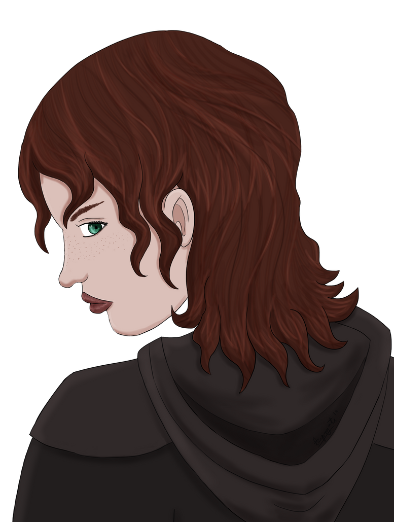 13th Age Rogue Portrait by tarynsgate