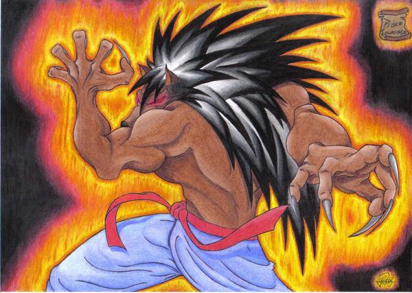 Devil Werewolf by ronneyt