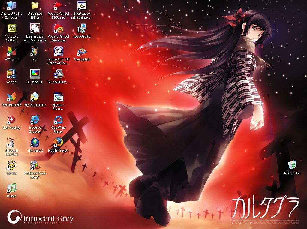 My Desktop by Sakura-Kitty