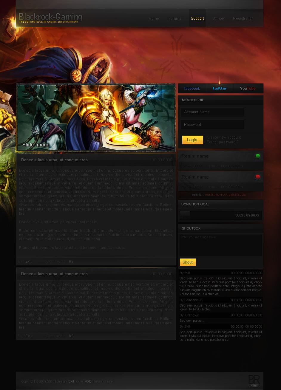 Blackrock Gaming by Evil-S