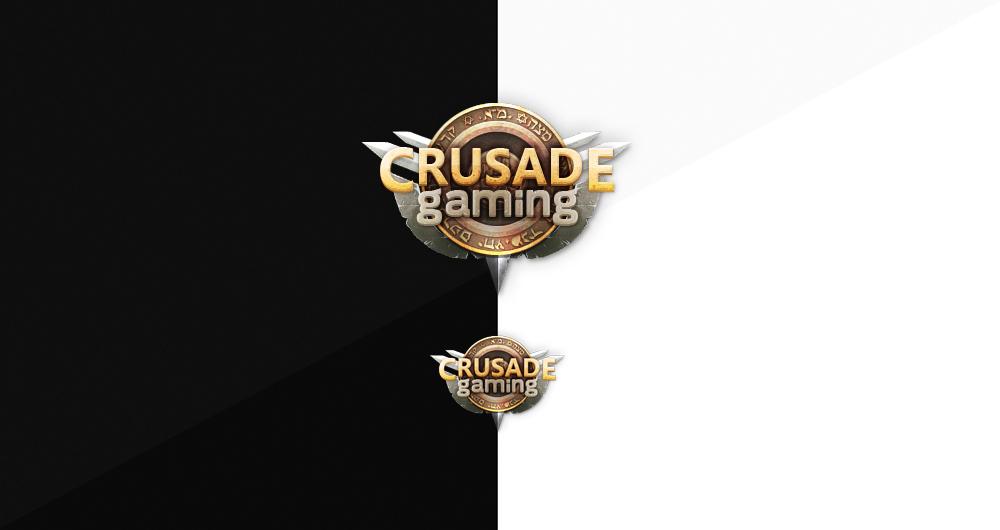 Crusader Gaming Logo by Evil-S