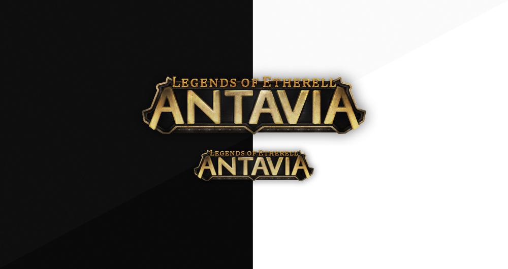 Legends of Etherel ANTAVIA Logo by Evil-S