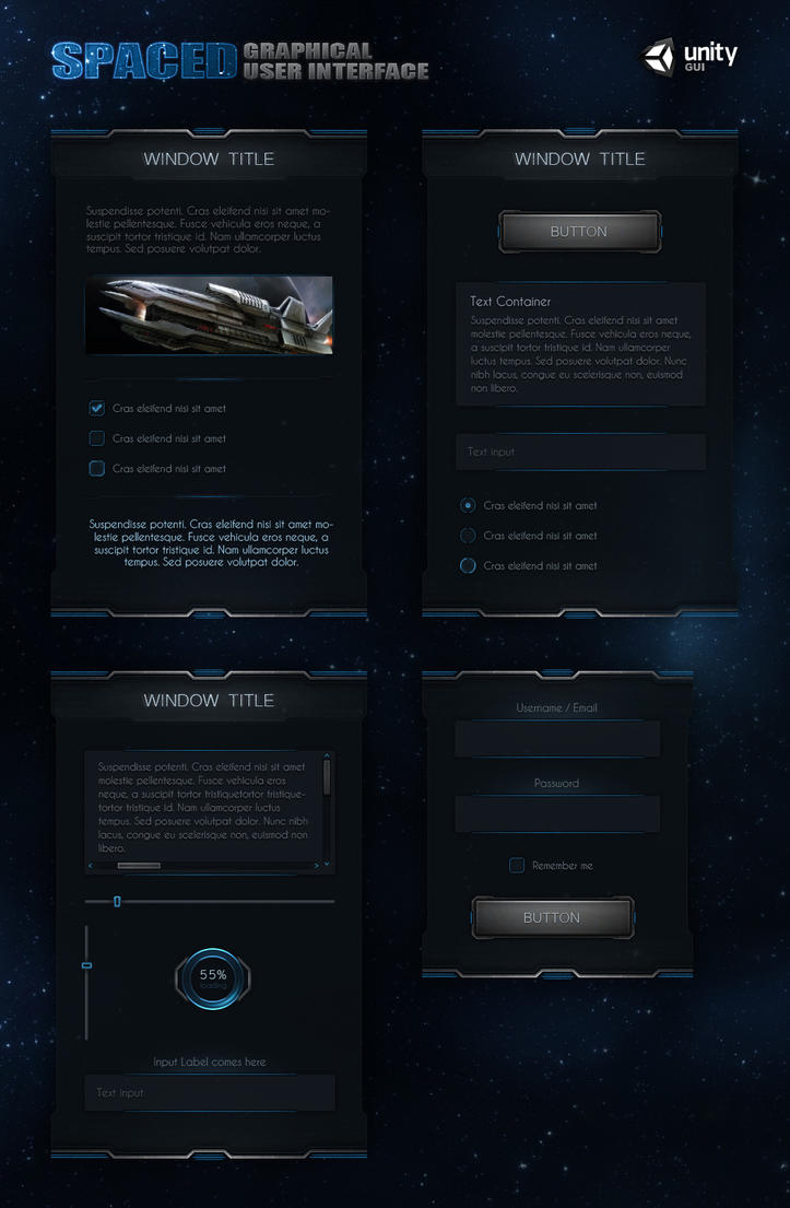 SpaceD UI by Evil-S