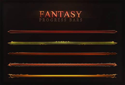 Fantasy Progress Bars