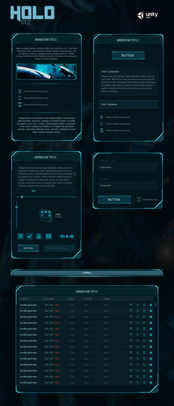 Holo Gui By Evil S On Deviantart