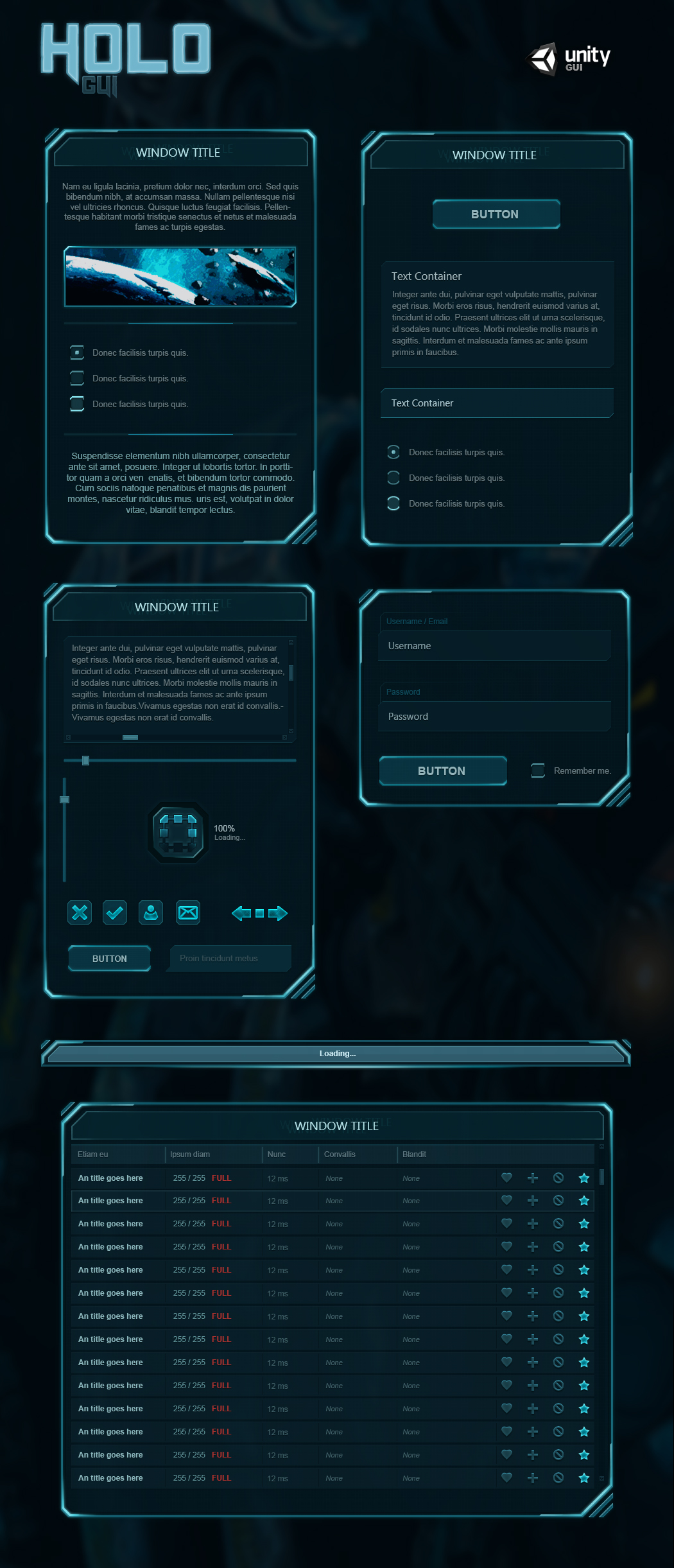 Holo GUI by Evil-S