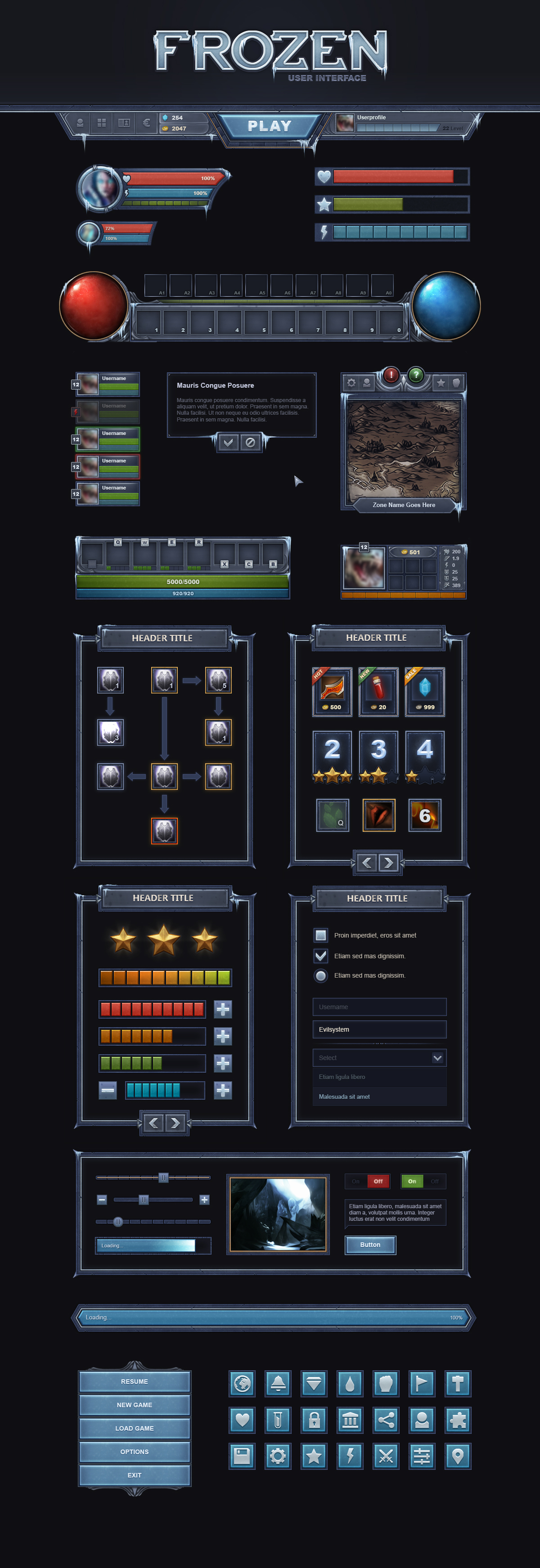 Game Ui Design Principles Full Preview By Evil S Dhj
