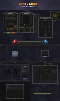 RPG and MMO UI 2