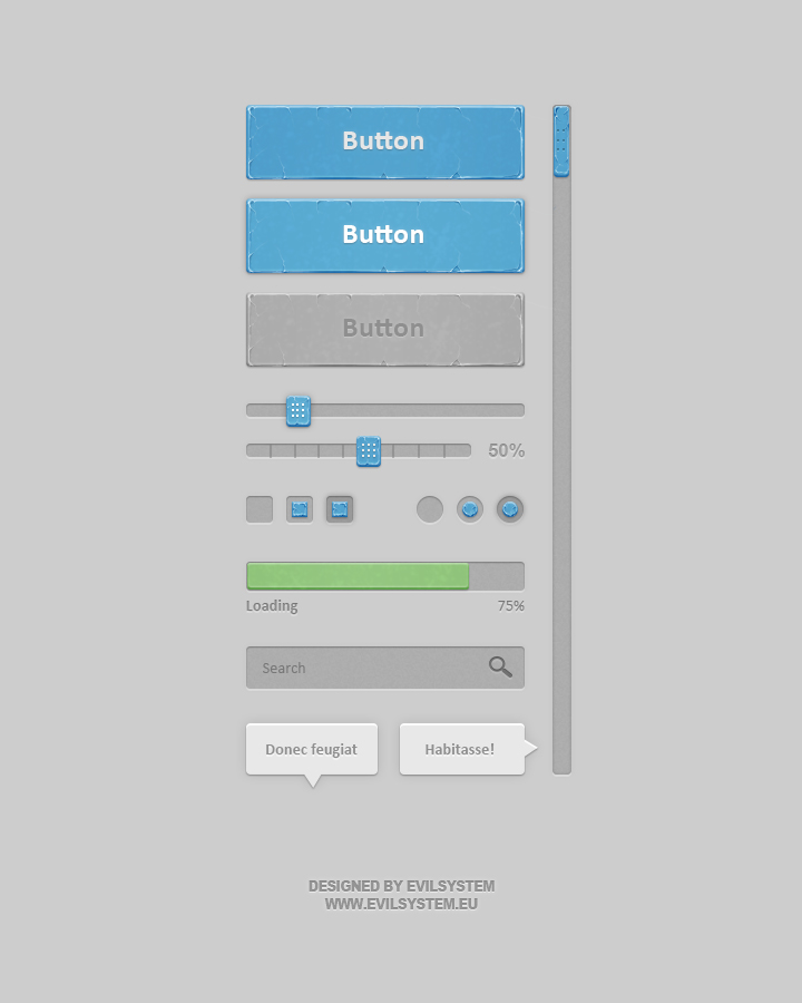 Bluish Interface by Evil-S