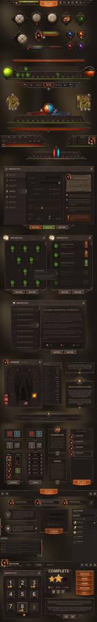 Burnblade UI