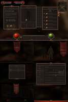 RPG and MMO UI 3 by Evil-S