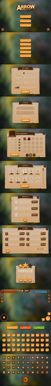 Arrow Mobile UI by Evil-S