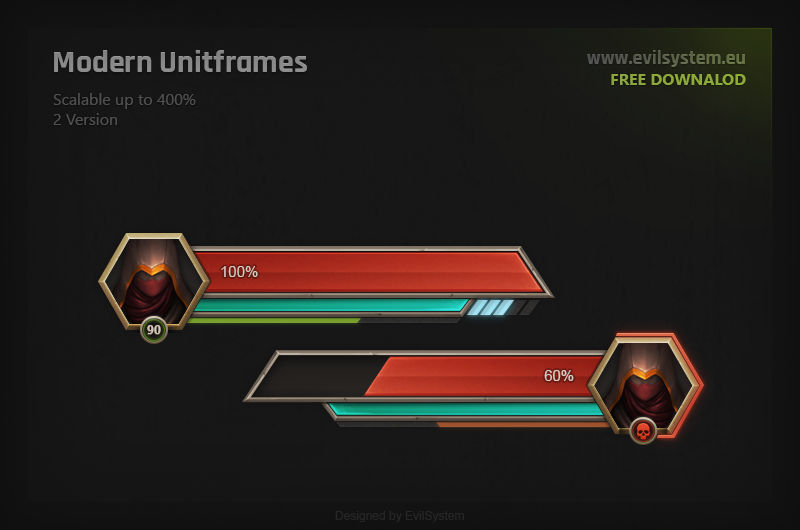 Modern Unitframes