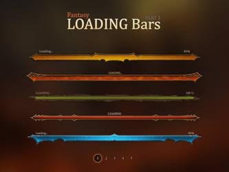 Fantasy Loadign Bars