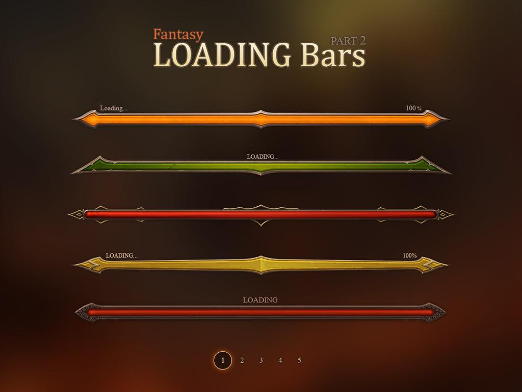 Fantasy Loadign Bars 2 by Evil-S