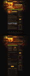 Burning Web Design - WoW by Evil-S