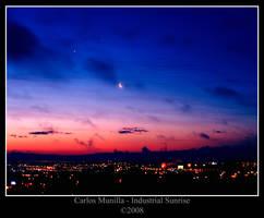 Industrial Sunrise by cmunilla