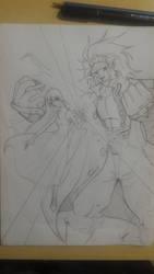 Cris Chan and Bancho Leomon Ultra Evolution by PrincessYin