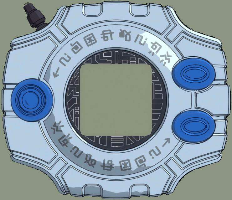 Digivice Tri style by PrincessYin