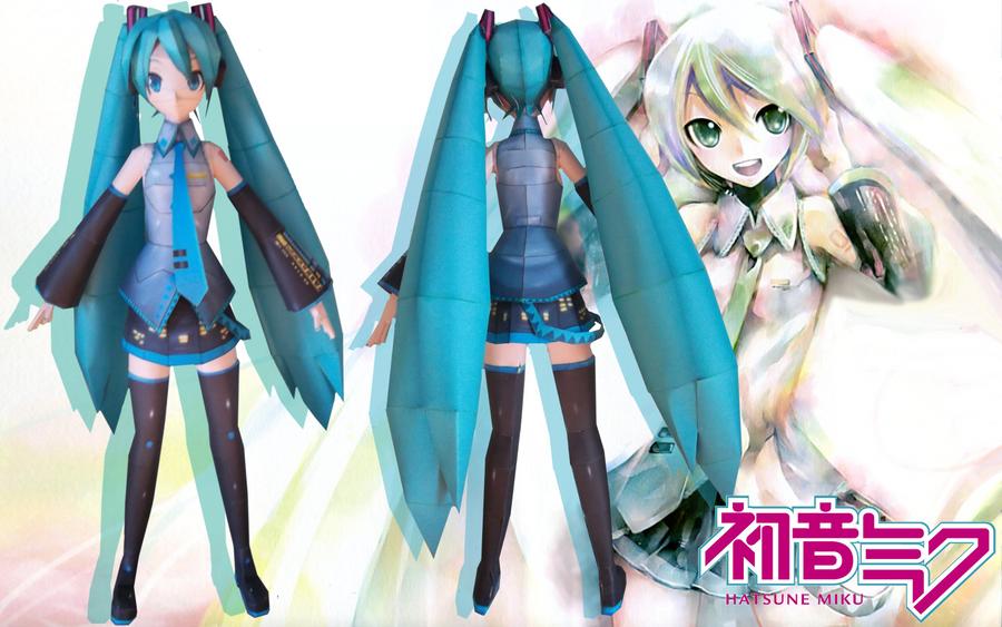 VOCALOID: Hatsune Miku by Paperlegend