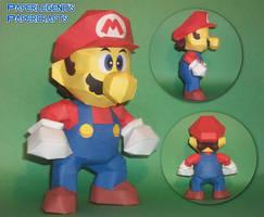 Mario 64 by Paperlegend