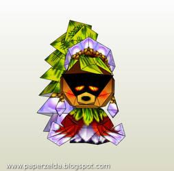 Deku Princess Papercraft by Paperlegend