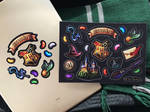 Harry Potter stickers by SaiTeadvuse