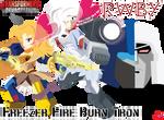 FREEZER FIRE BURN TRON C AliceMoonlight