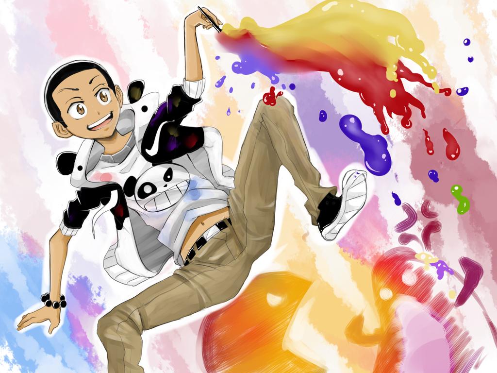 Mitsuzo- Dances With Paint by Mitsuzo