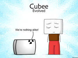 Cubee and Confusedguy
