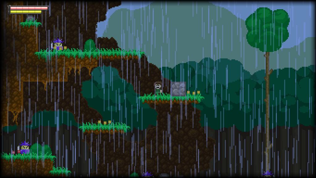 Momento Temporis - Grasslands, raining by ReFreezed