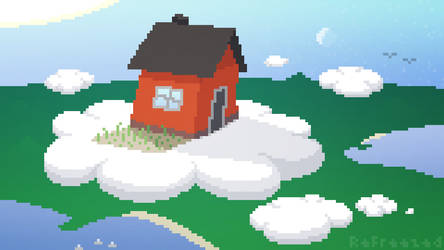 House in the Clouds by ReFreezed