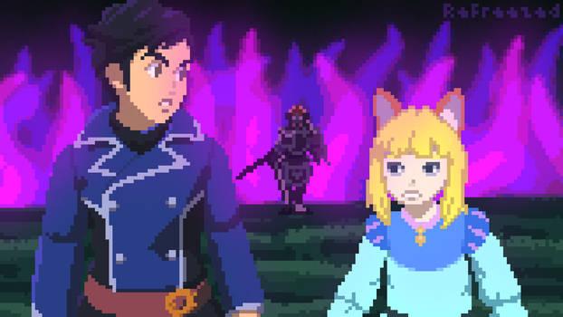 Black Knight Encounter (Ni no Kuni II)