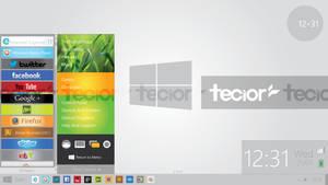Windows 8 Metro Desktop Concept 2 - Start Menu