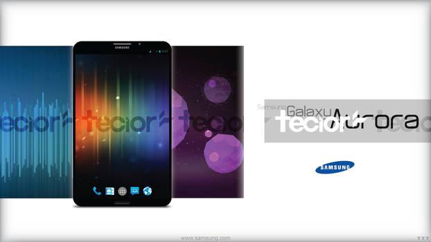 Samsung Galaxy Aurora Smartphone Concept