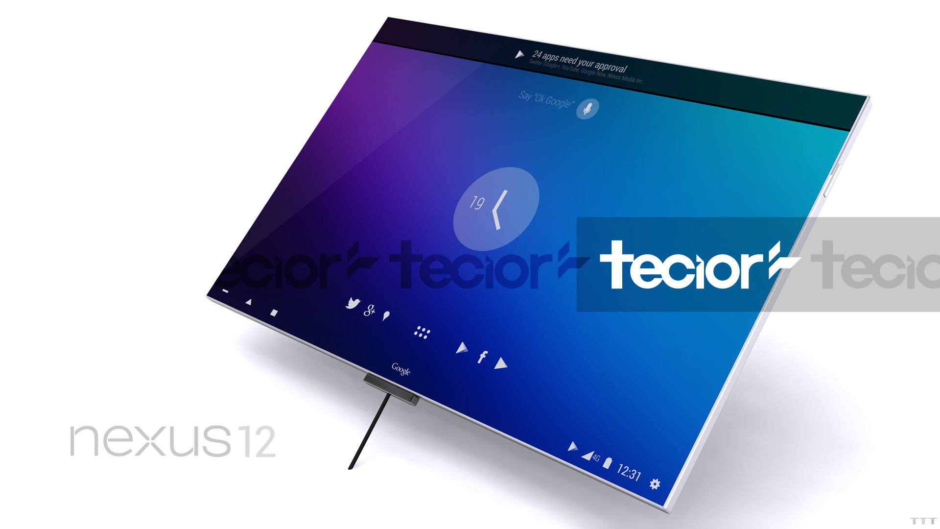 Nexus 12 3D Concept