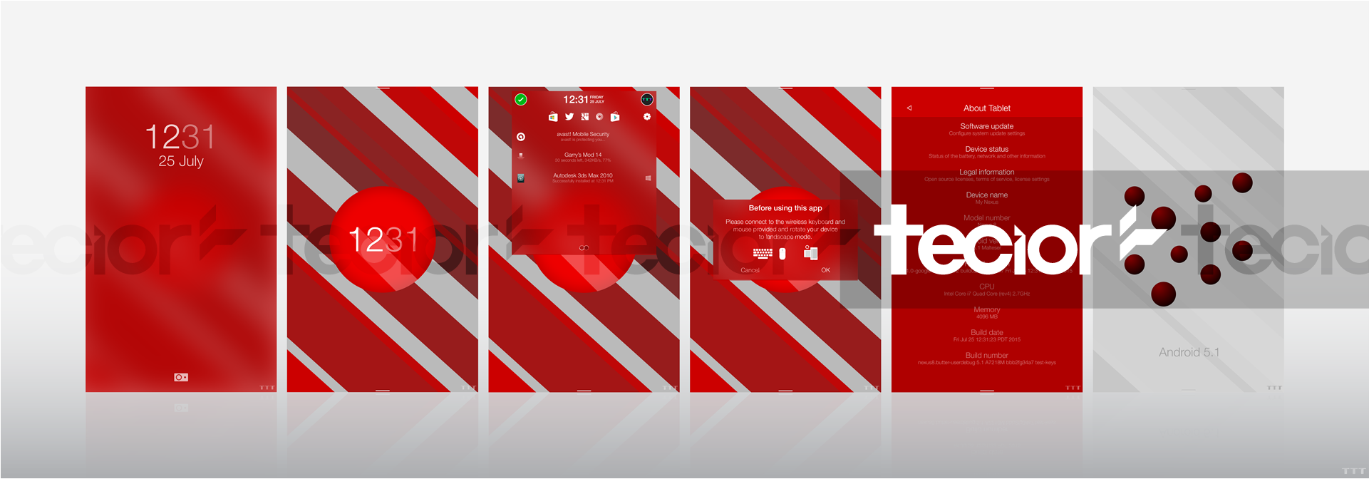 Android 5.1 Malteser Concept