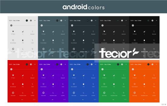 AndroidColors Concept