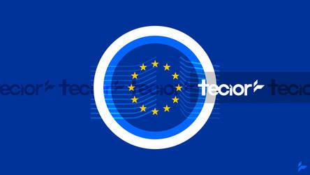 European Commission Flag Concept