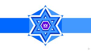 (Flag) Monarchy of Israel by Tecior