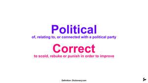 Political Correction by Tecior