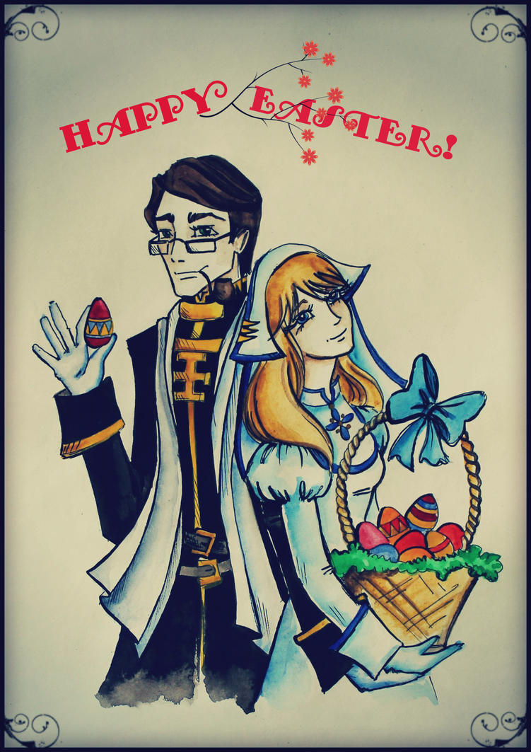 Happy Easter! by AmeliaMadHatter
