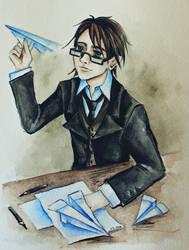 School amusements by AmeliaMadHatter