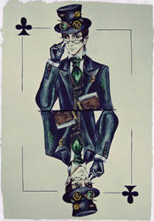 King of clubs by AmeliaMadHatter