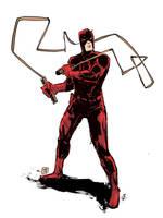 Daredevil Drawing by JasonCopland